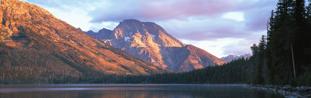 Mt. Moran at sunrise : Wyoming