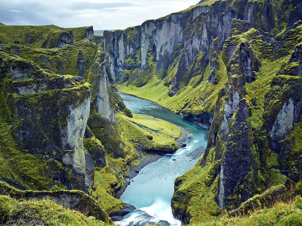 Less traveled canyon : Iceland