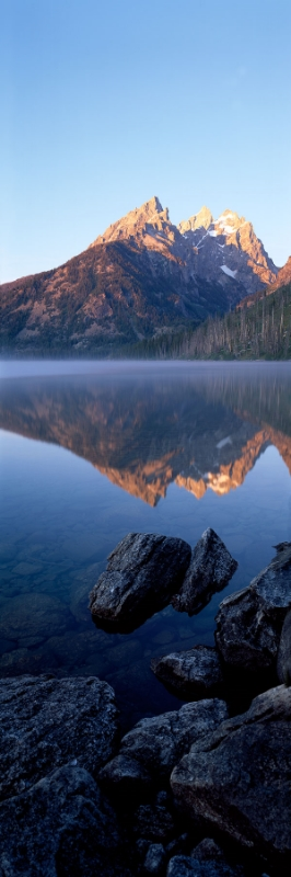 Jenny Lake at Dawn : Wyoming