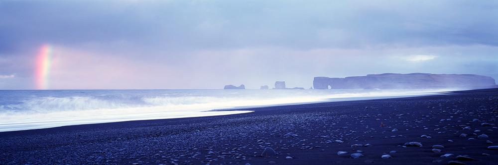 Dyrholaey Beach sunrise : Iceland