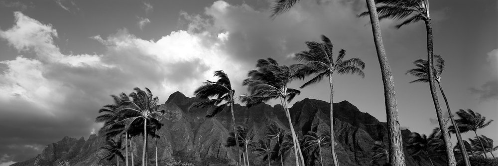 Copy of Kualoa Ranch at Sunrise, Oahu 2011