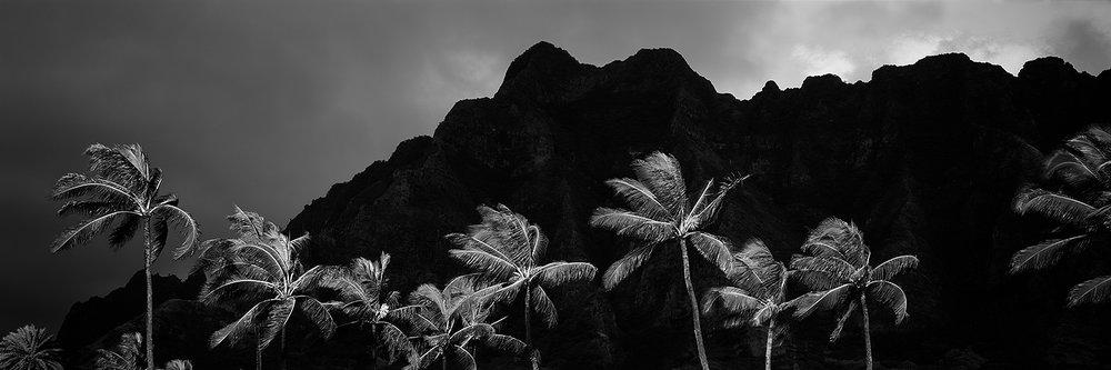 Kualoa Silhouette, Oahu 2015