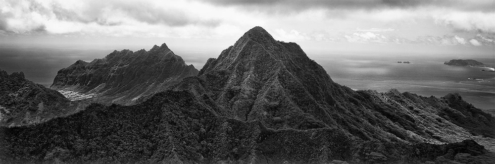 Copy of Windward Peaks, Oahu 2014