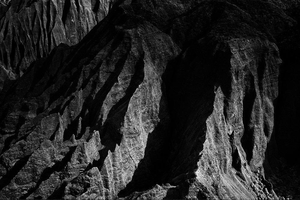 Kalalau cliffs, Kauai 2013