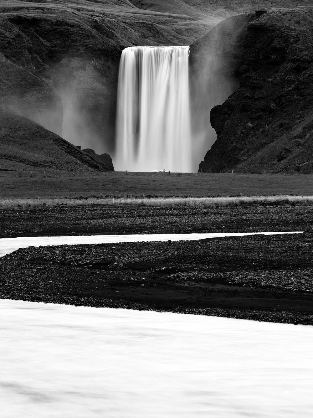 Copy of Skogafoss falls, Iceland 2014