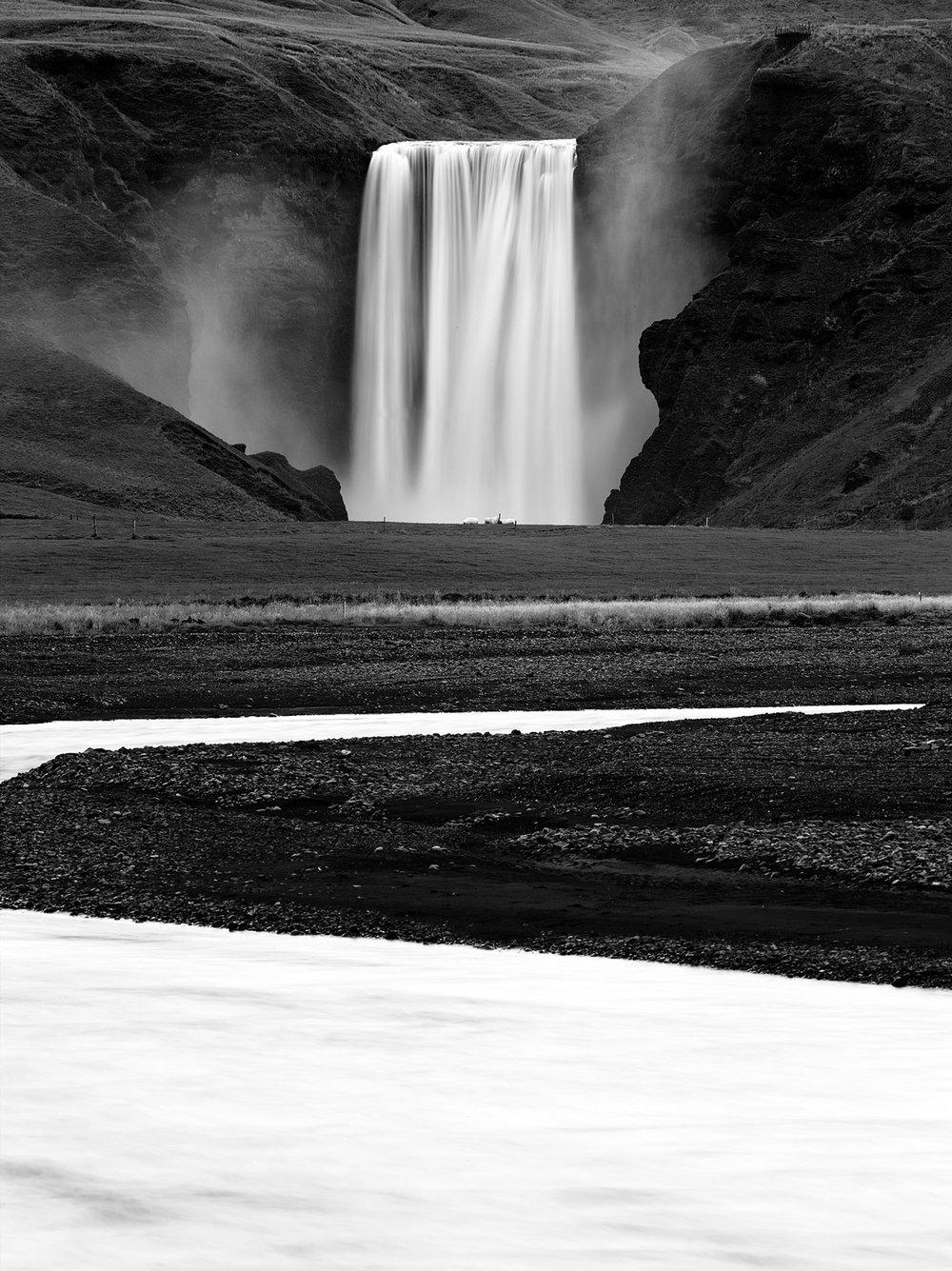 Skogafoss falls, Iceland 2014
