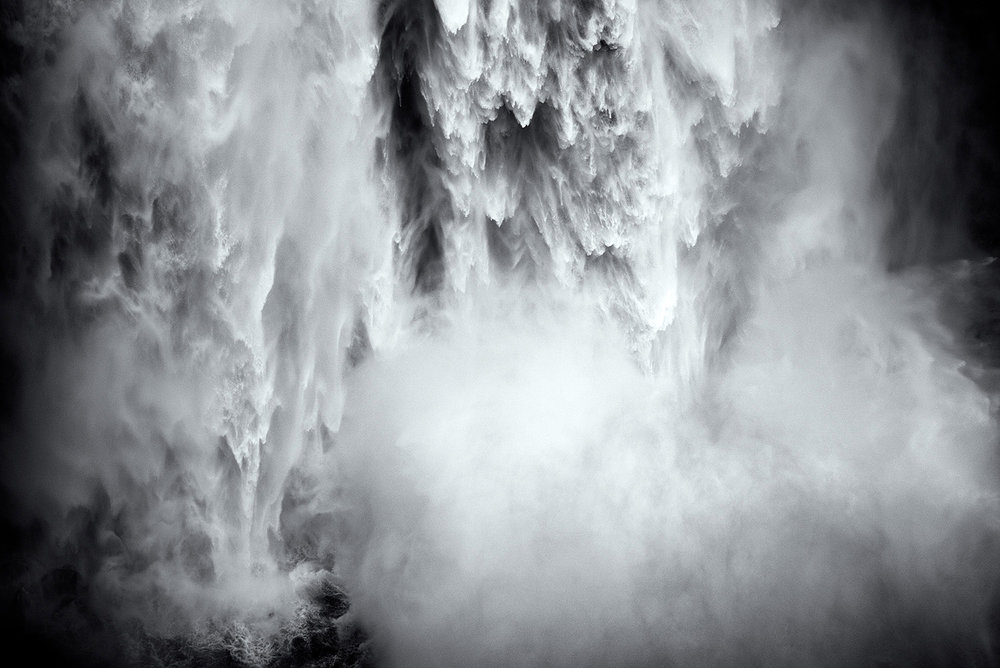 Snoqualmie Falls up close, Washington 2015