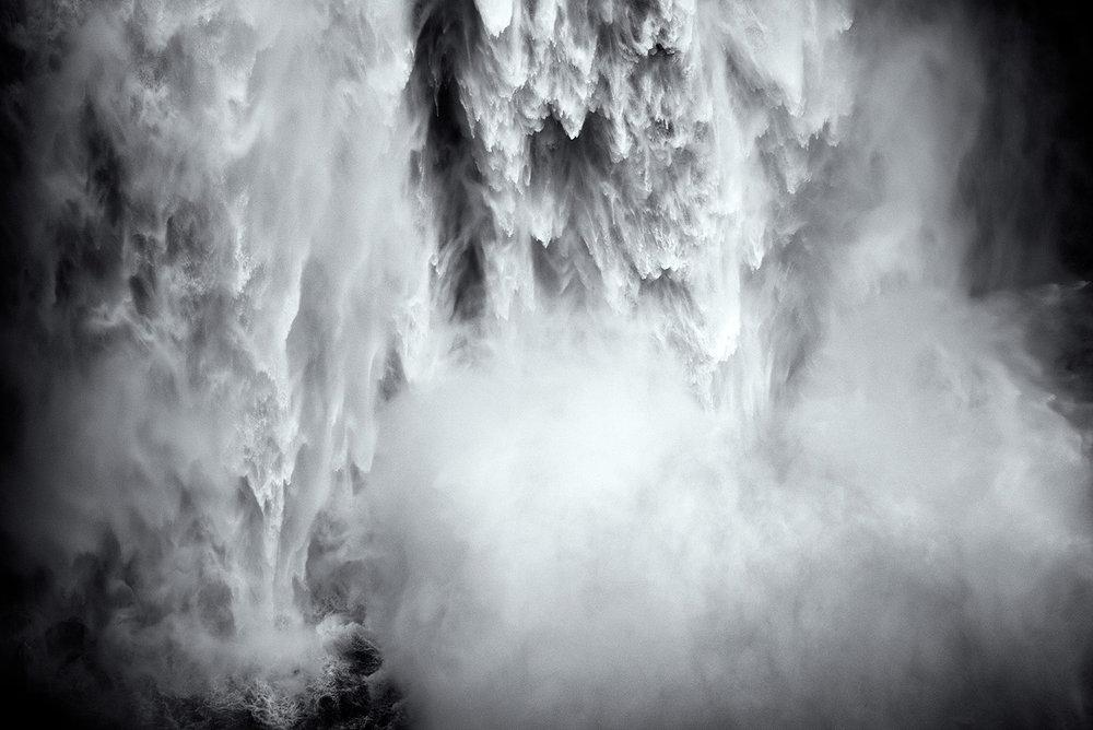 Snoqualmie Falls up close, Washington 2015