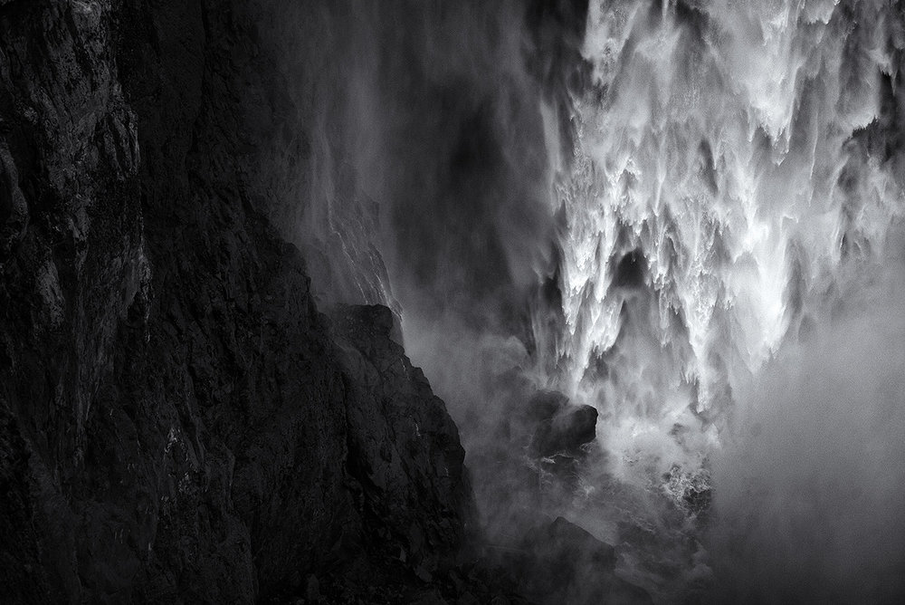 Snoqualmie Falls pulled back, Washington 2015
