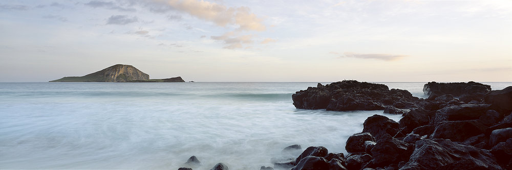 Makapuu at sunrise, Oahu 2014