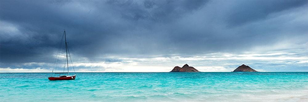 Storm over Lanikai, Oahu 2012