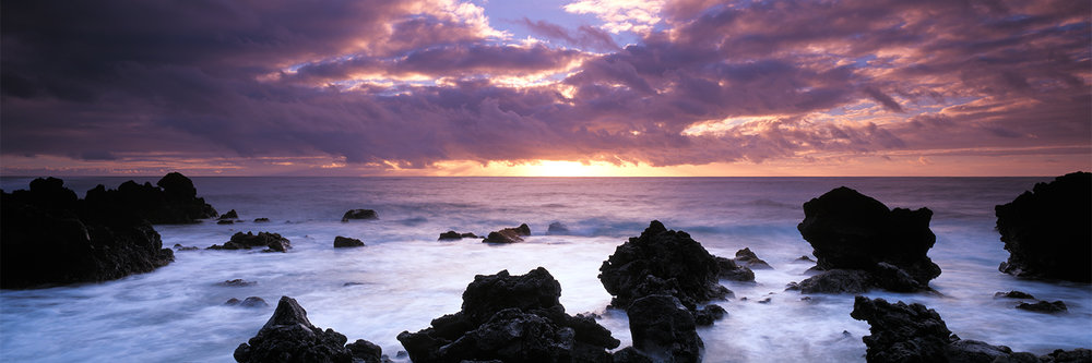 Erma Beach sunrise, Oahu 2014