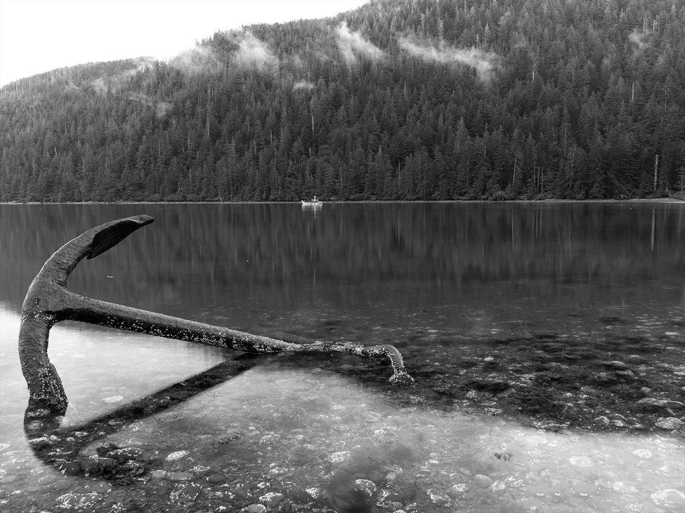Anchor on Noise Island, Alaska 2014
