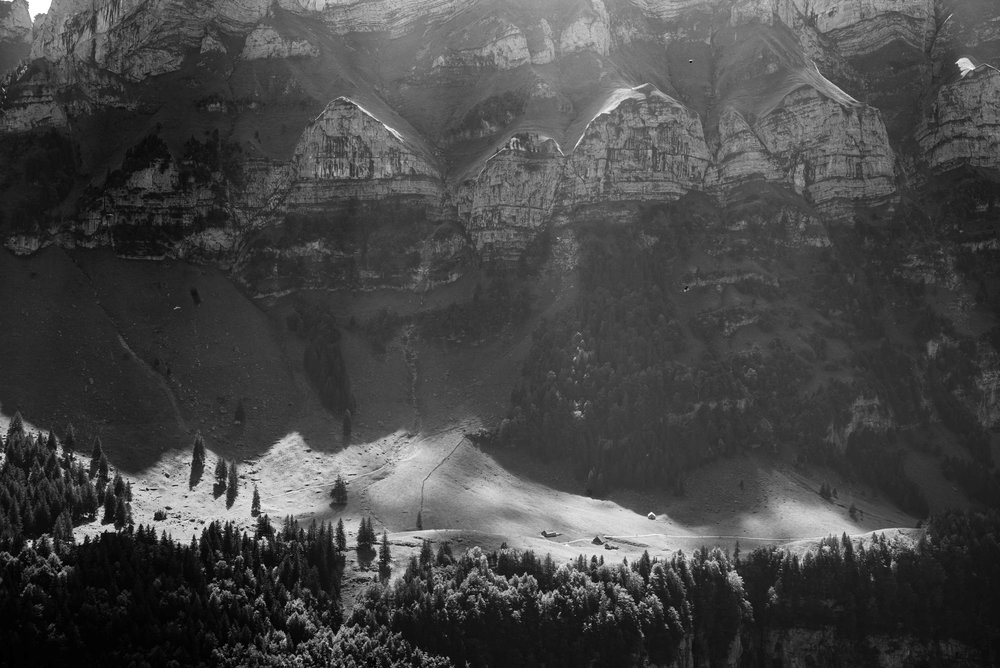 Midday light in the valley    Leica Monochrom 1/125s F16 ISO650