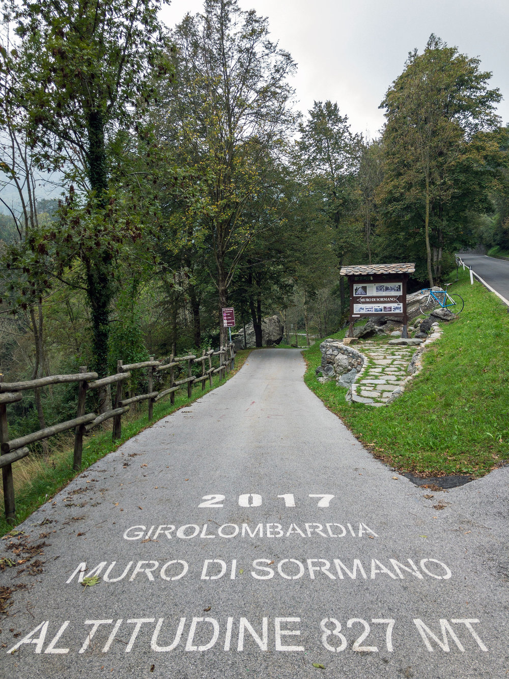 Muro Di Sormano climb     iPhone X 1/160s F1.8 ISO20