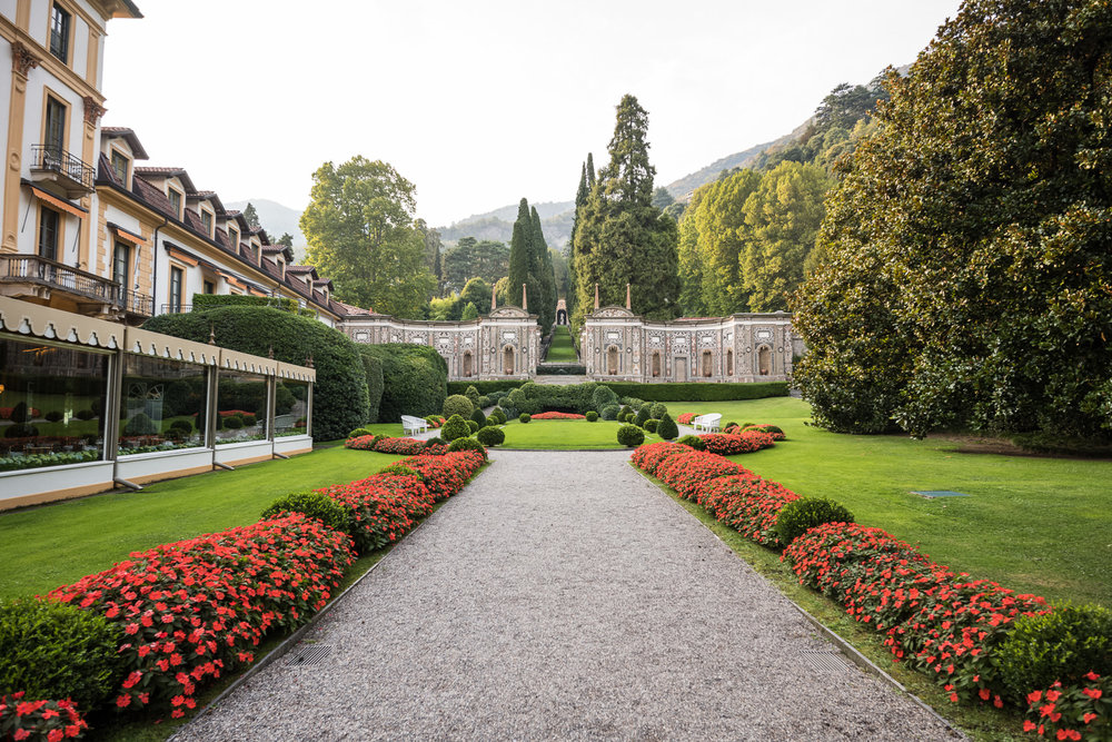 Manicured grounds of Villa D'Este    Leica M10 1/250s F5.6 ISO 100