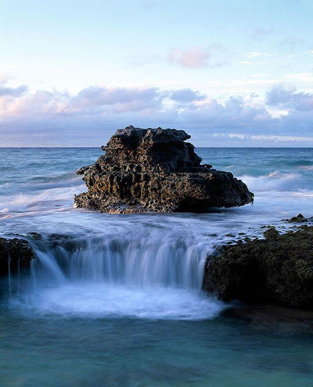 Exposed Reef, O'ahu 2014 #mamiyarz67 #fujifilm #velvia50 #landscapephotography #designlife #ainaimagery