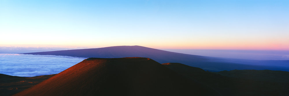 Mauna Kea at sunrise, Big Island 2014