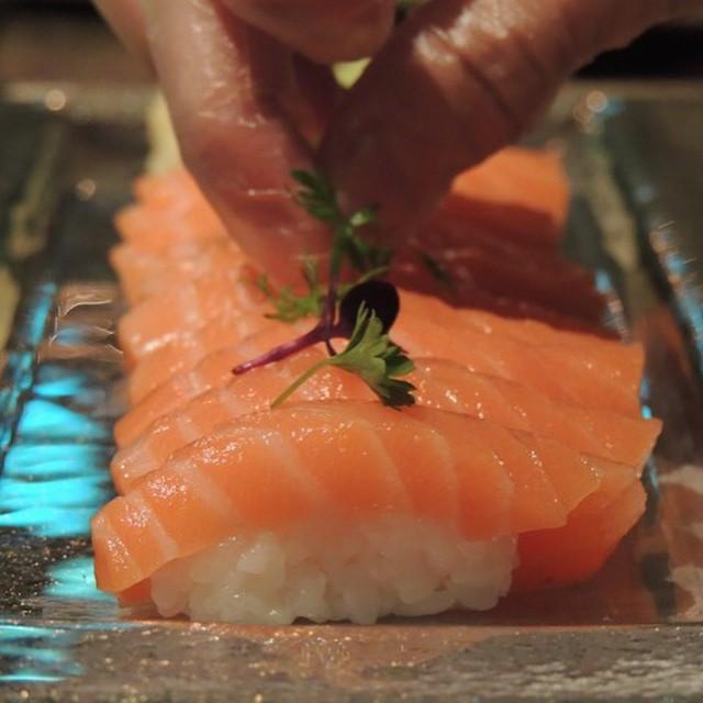 Salmon Sushi A La Carte #Musu