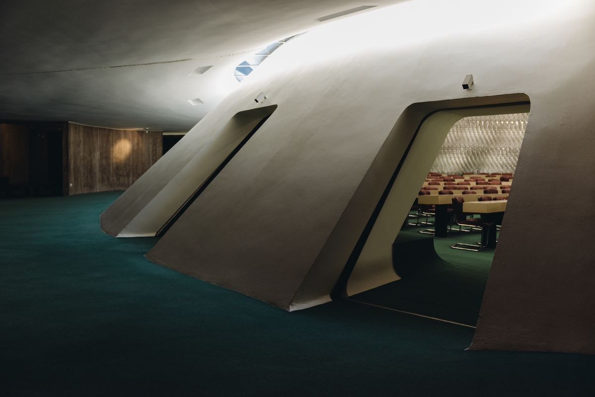 French Communist Party Headquarters, Paris. (1972) Architect: Oscar Niemeyer.