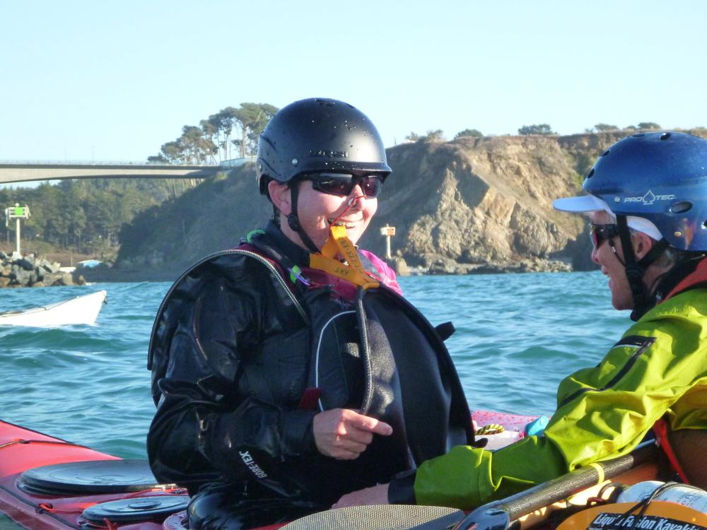 sea kayak rescue instruction