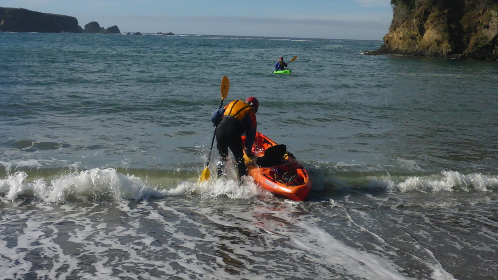 Learning to Ocean Kayak