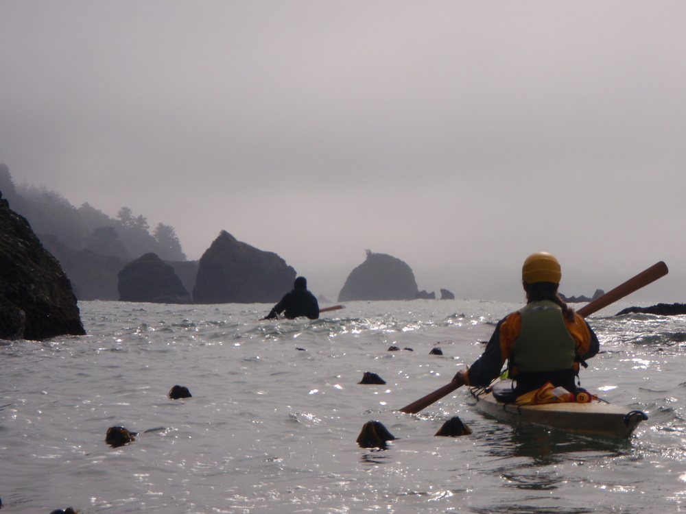 Sea Kayaking Trinidad, California