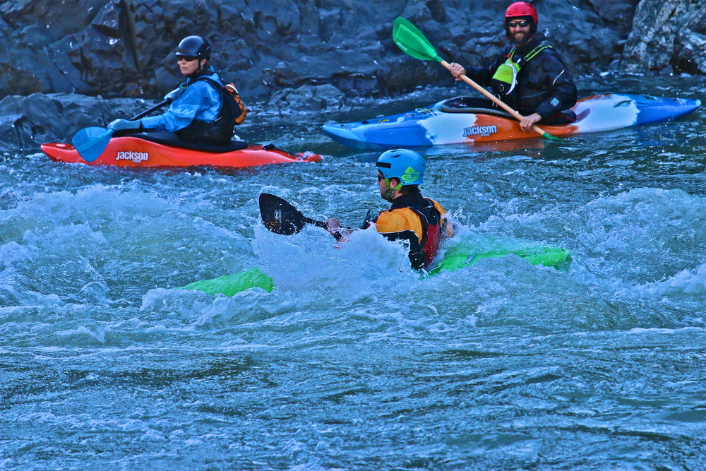 Whitewater River Kayaking on the Eel River