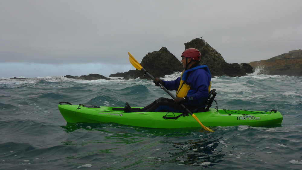 Get ready for abalone diving with LFK's Intro to Ocean Kayaking Class