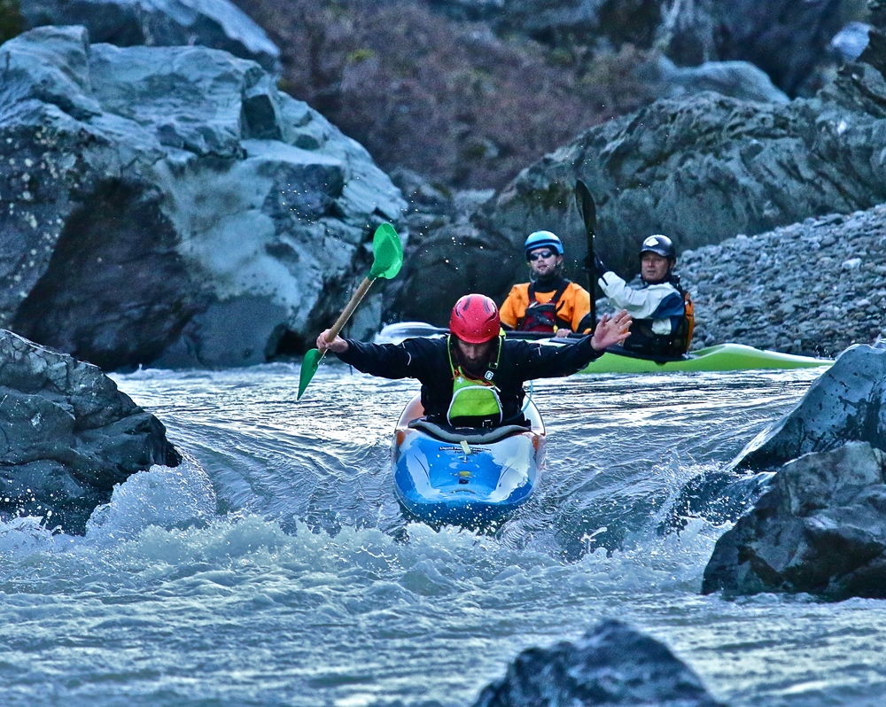 Eel River Whitewater Kayak Class