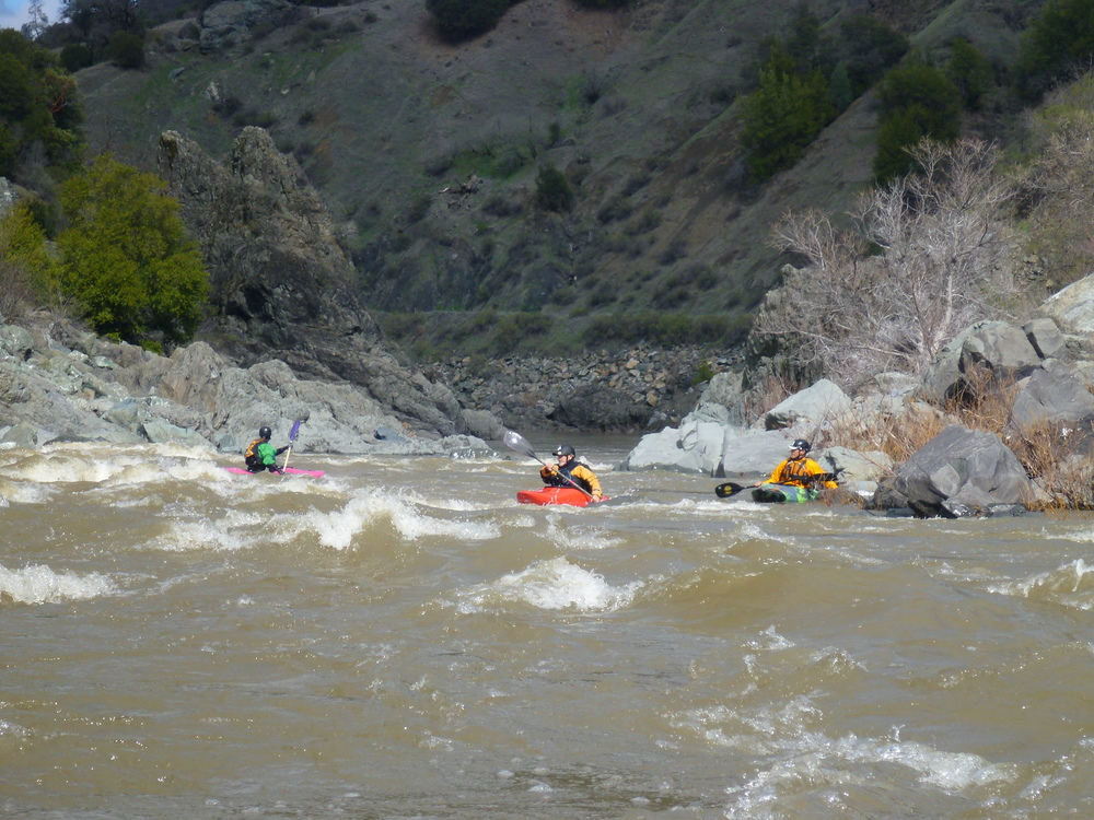 Whitewater Kayaking on Eel River