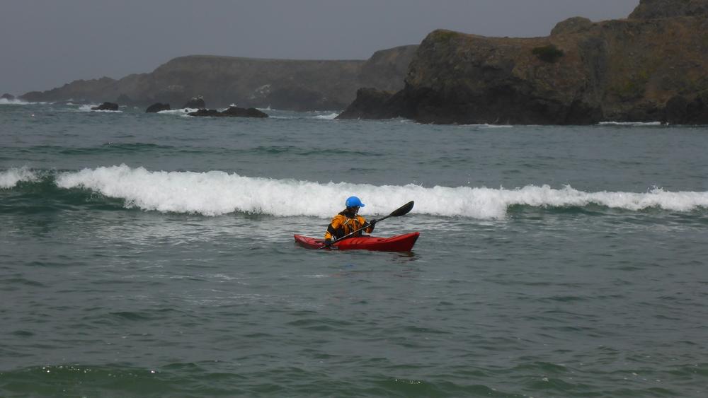 Sea Kayak Surf Class