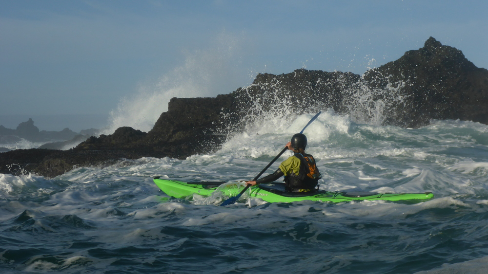 Sea Kayaking on the Mendocino Coast of California