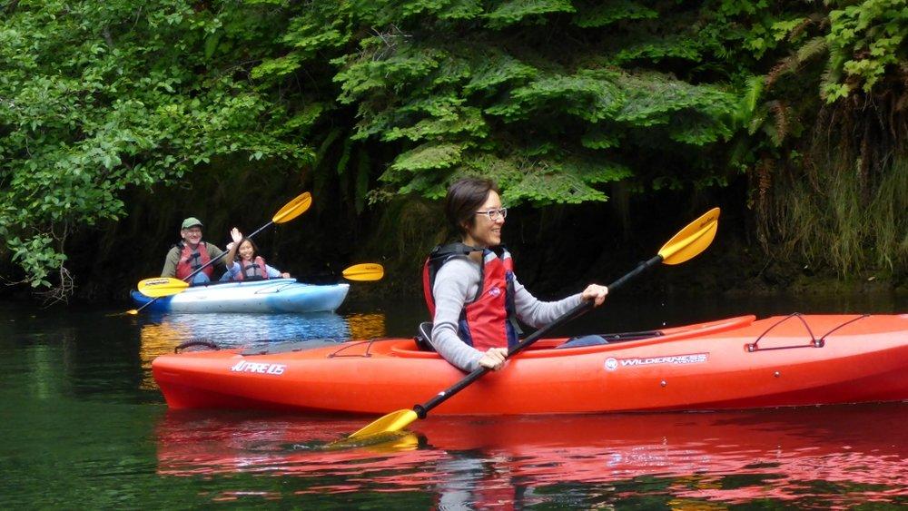 Fort Bragg Kayak Tour