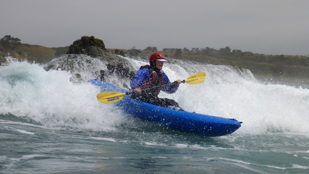 Whitewater of the Sea