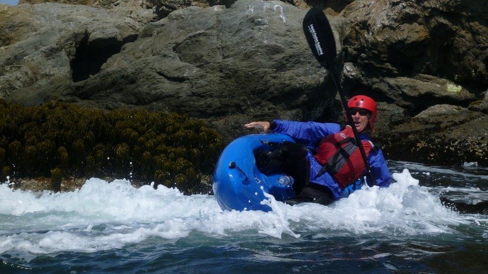 Thrills n Spills ocean kayaking on the Mendocino Coast