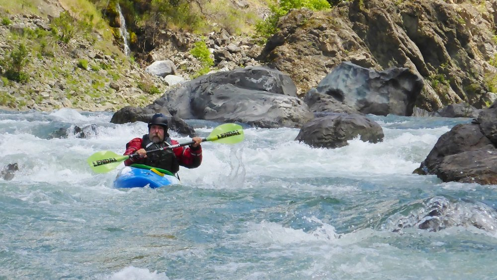Eel River Whitewater Kayaking