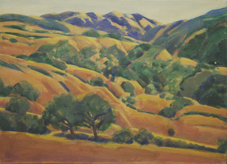 33. Coast Range Ridge and Hills  34 x 45.web.jpg