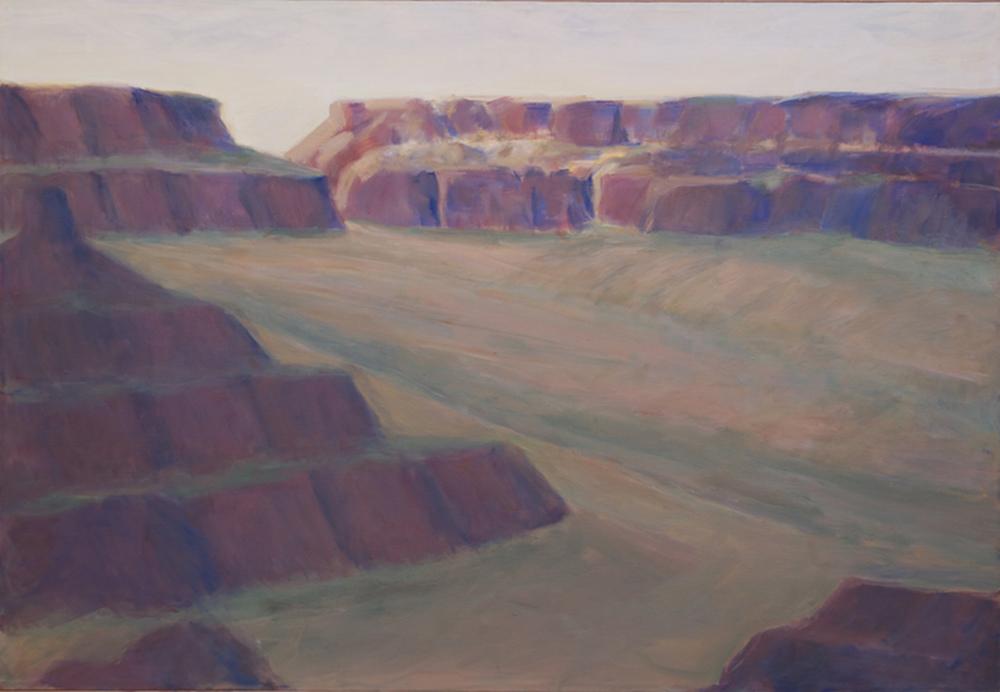 44.Monument Valley landforms, Arizona 46x6.web.jpg