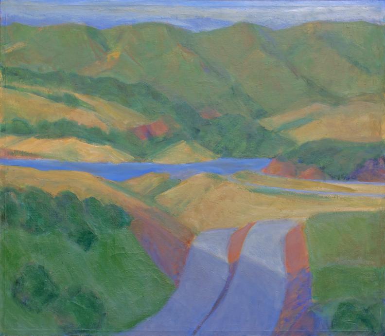 67.a I-280 and Crystal Springs Lake, San Mteo Co., Calif., 43x50, 1993-4.web.jpg