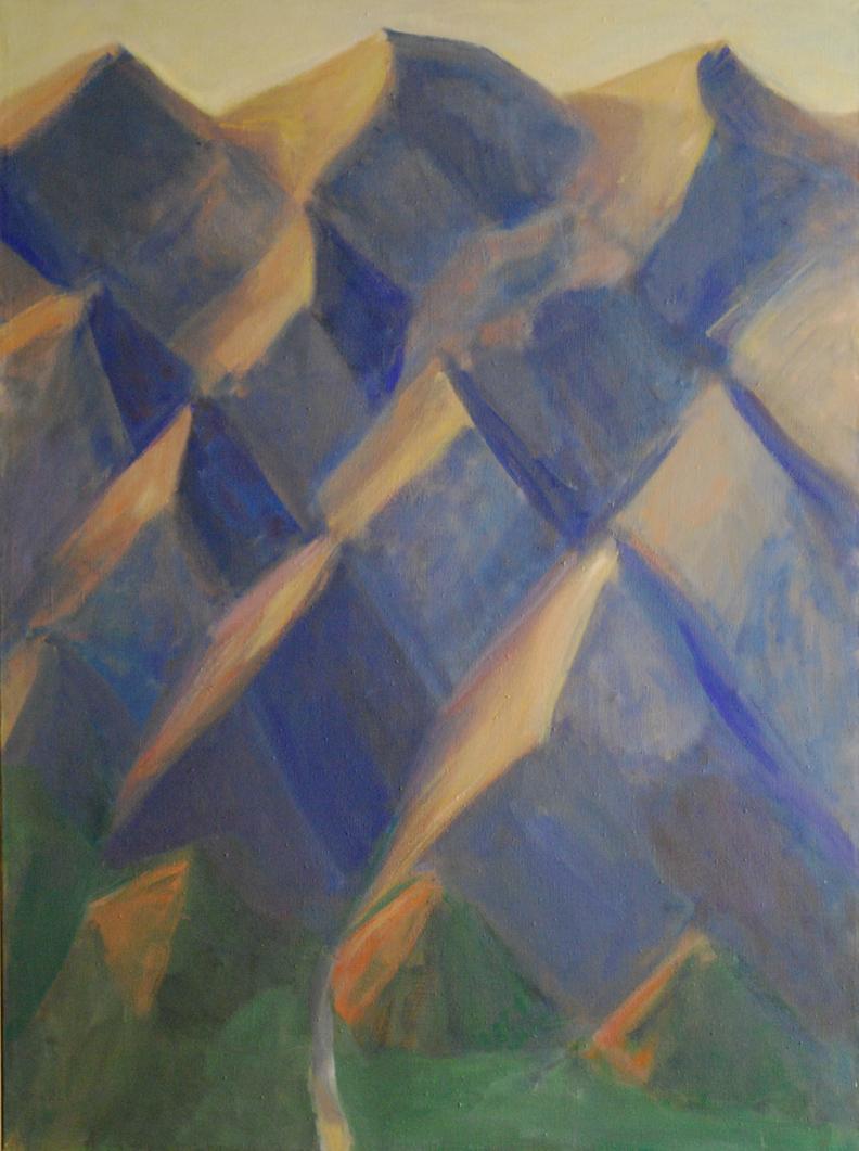116. Barren Mountains at Sunrise  46 x 34.5.web.jpg