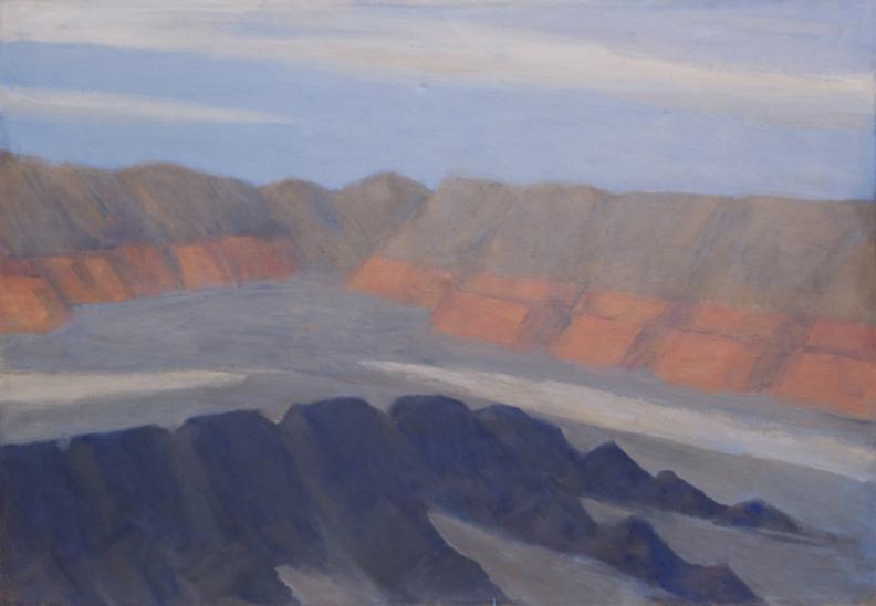 182. Mountain Ranges, Mojave Desert, 41x60   2013.web.jpg