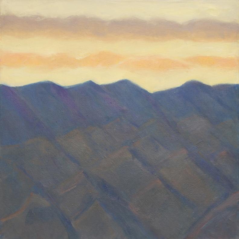 177.Sunset over desert hills, 41x40 2012.web.jpg