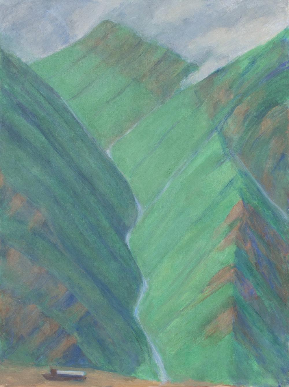 Tributary Stream, Yangtze Gorge