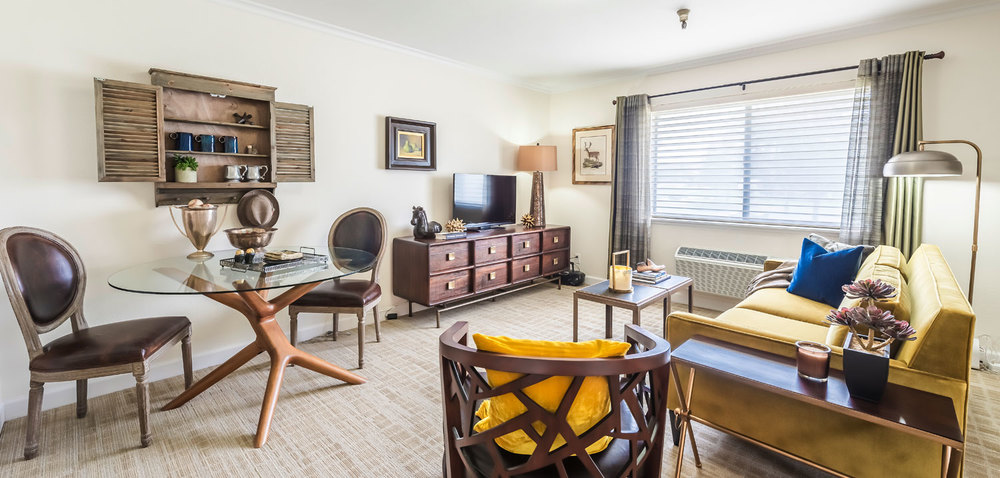 Affordable Resort Style Senior Independent Living.   Newly remodeled with you in mind! Call today for your personal tour 951-354-0230.