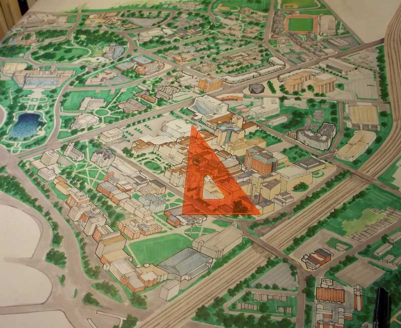 architectural renderings Maps — Ralph Bacon illustration and design
