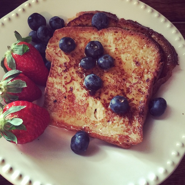 brioche french toast -
