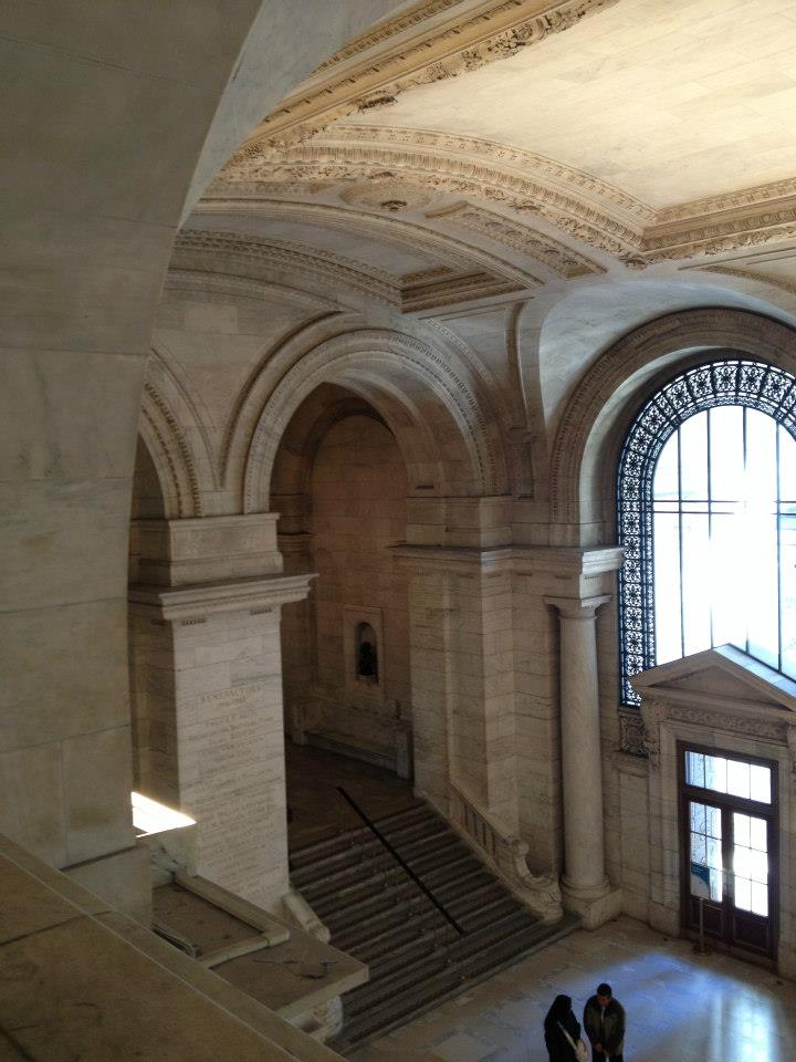 inside the new york public library