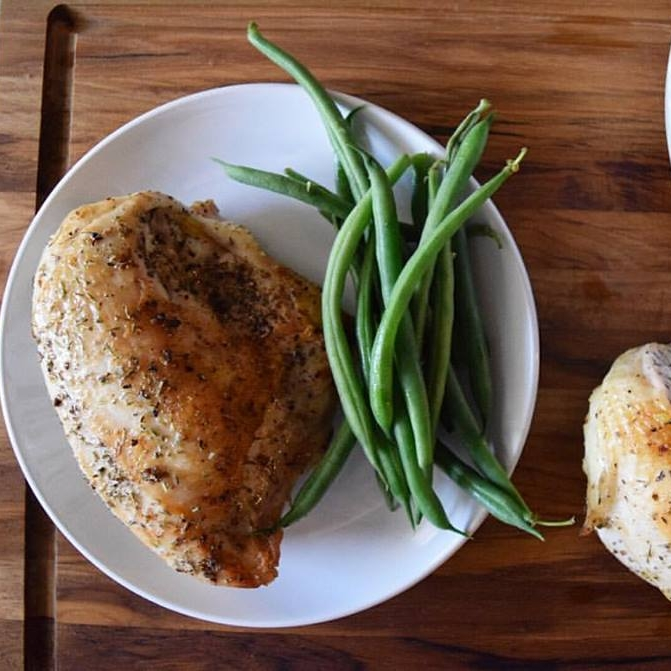 simplest chicken -