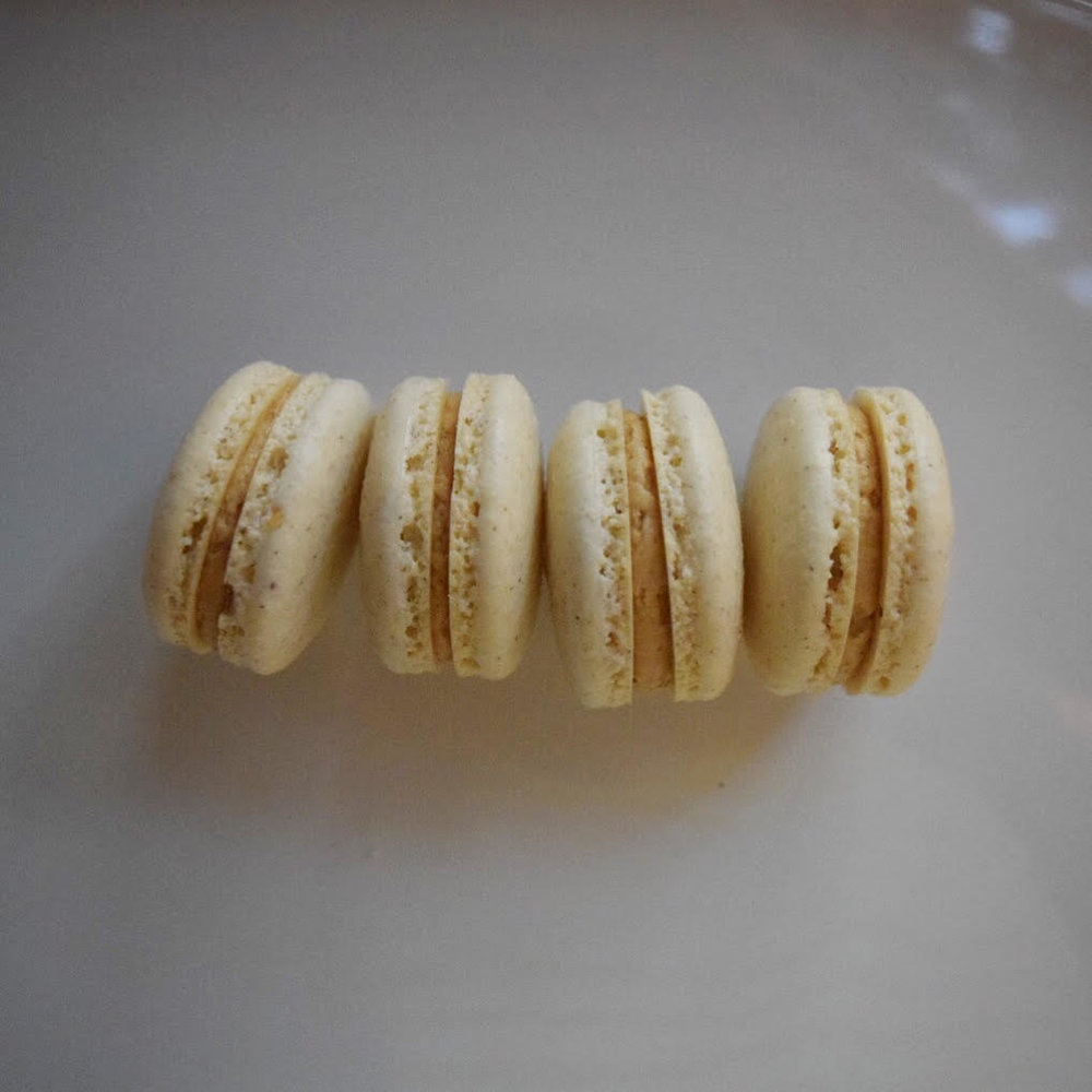 speculoos macarons -